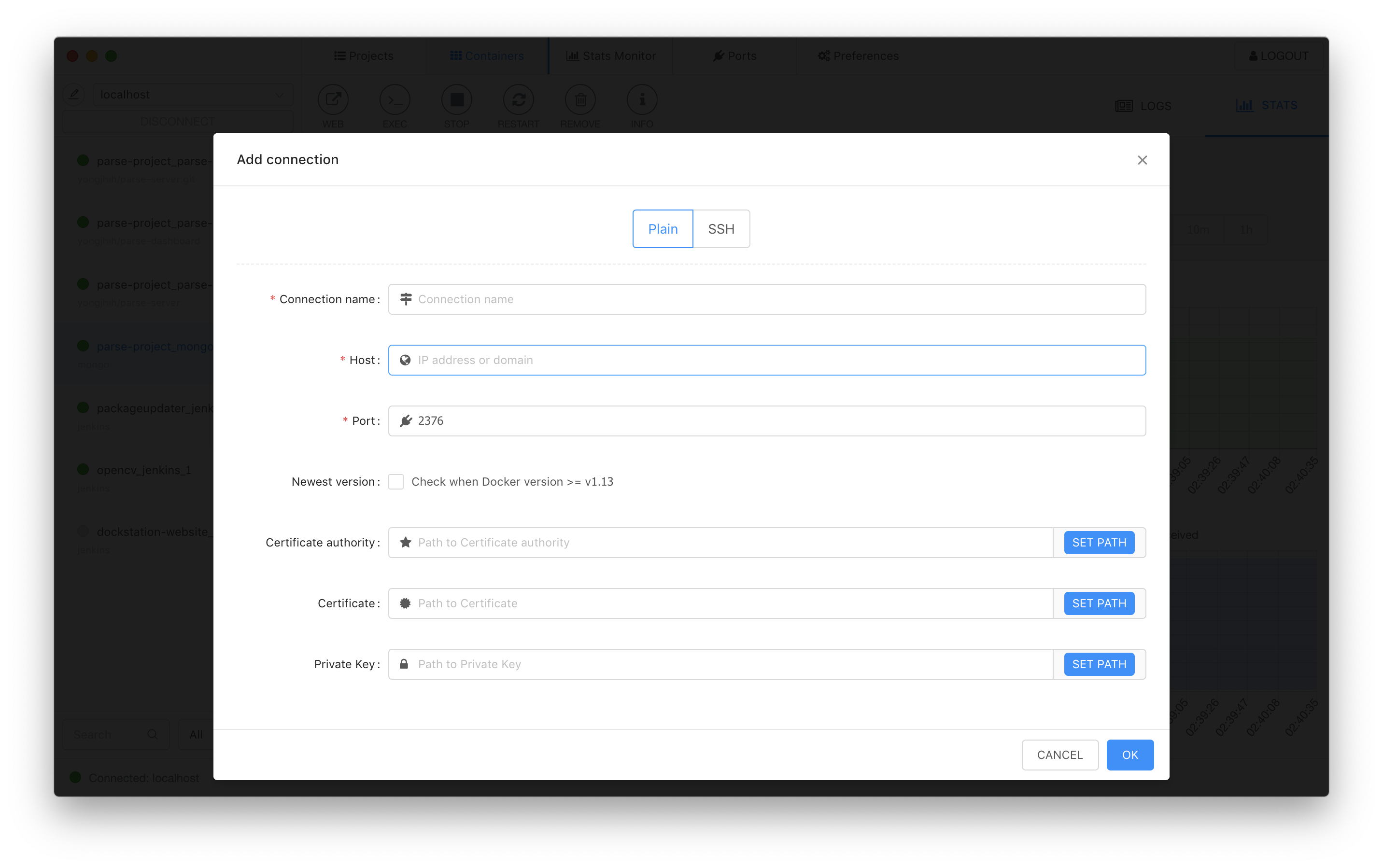 DockStation - Developing with Docker has never been so easy and